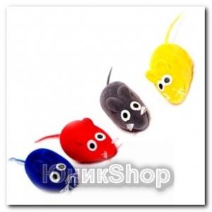 Игрушка Мышь цветная 4шт