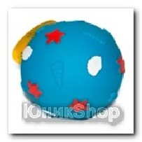 Игрушка Мяч цветной винил 10см