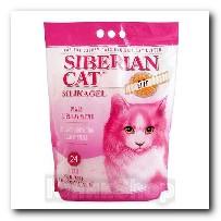 Наполнитель Сибирская Кошка для кошачьего туалета Элита для привередливых кошек силикагель розовые гранулы 24л 3504
