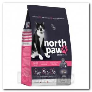 Корм North Paw для кошек и котят 2,72кг