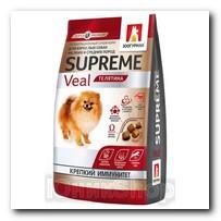 Корм Zoogurman Supreme Телятина для собак малых и средних пород 1,2кг