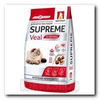 Корм Zoogurman Supreme Телятина для кошек 350г 4711