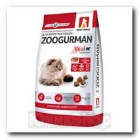 Корм Zoogurman Supreme Телятина для кошек 1,5кг 5886