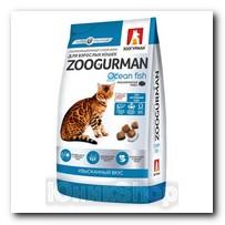 Корм Zoogurman Океаническая рыба для кошек 1,5кг 5893
