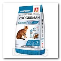 Корм Zoogurman Океаническая рыба для кошек 350г