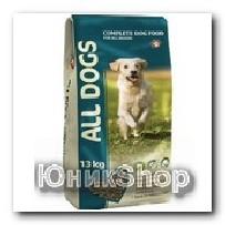 Корм All Dogs для собак сухой 13кг