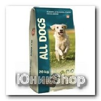 Корм All Dogs для собак сухой 20кг