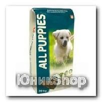 Корм All Puppies для щенков сухой 20кг