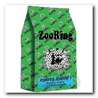 Корм ZooRing для щенков Puppy Junior-1 (Паппи и Юниор-1) Лосось и рис 20кг с пробиотиками