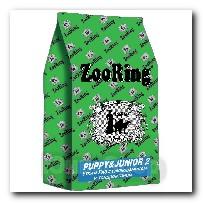 Корм ZooRing для щенков Puppy Junior-2 (Паппи и Юниор-2) Утка и рис 20кг с глюкозамином и хондроитином