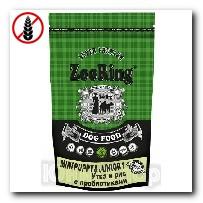 Корм ZooRing для щенков Mini Puppy Junior-1 (Мини Паппи и Юниор-1) Утка и рис (без пшеницы) 700г c пробиотиками
