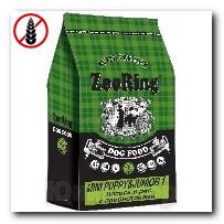 Корм ZooRing для щенков Mini Puppy Junior-1 (Мини Паппи и Юниор-1) Лосось и рис (без пшеницы) 10кг c пробиотиками