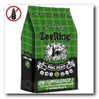 Корм ZooRing для щенков Mini Puppy Junior-2 (Мини Паппи и Юниор-2) Утка и Лосось с рисом (без пшеницы) 10кг c глюкозамином и хондроитином