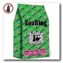 Корм ZooRing для собак Mini Activ Dog (Мини Актив Дог) Лосось и рис 20кг c хондроитином и глюкозамином