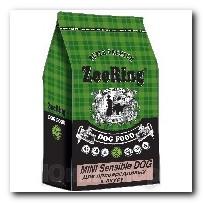 Корм ZooRing для собак Mini Sensible Dog (Мини Сенсибл Дог) Индейка и рис 10кг Для привередливых к вкусу собак