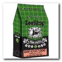 Корм ZooRing для собак Mini Adult Dog (Мини Эдалт Дог) Лосось и рис 10кг С пробиотиками