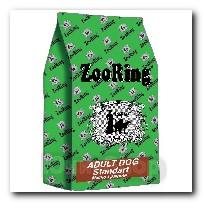 Корм ZooRing для собак Adult Dog Standart (Эдалт Дог Стандарт) Мясной рацион 20кг