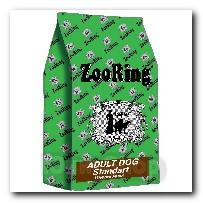 Корм ZooRing для собак Adult Dog Standart (Эдалт Дог Стандарт) Птичий Микс и рис 20кг с хондрозащтиными агентами