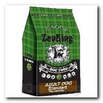 Корм ZooRing для собак Adult Dog Standart (Эдалт Дог Стандарт) Птичий Микс и рис 10кг с хондрозащтиными агентами