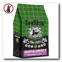 Корм ZooRing для щенков Puppy Junior-2 (Паппи и Юниор-2) Ягненок и рис (без пшеницы) всех пород склонных к аллергии и плохому пищеварению 10кг
