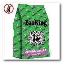 Корм ZooRing для щенков Puppy Junior-2 (Паппи и Юниор-2) Ягненок и рис (без пшеницы) всех пород склонных к аллергии и плохому пищеварению 20кг