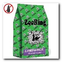 Корм ZooRing для собак Lamb Rice Ягненок и рис антиаллергенная формула всех пород и возрастов 20кг