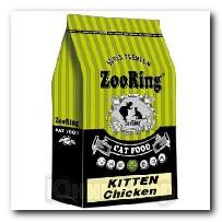 Корм ZooRing для котят Kitten Chicken (Киттен Цыпленок) 10кг