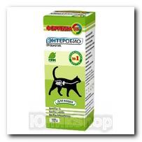 Биодобавка Формула-365 для кошек энтереобио 100мл
