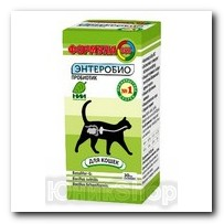 Биодобавка Формула-365 для кошек энтереобио 30мл