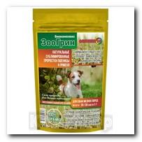Биокомплекс ЗооГрин для собак мелких пород 15г