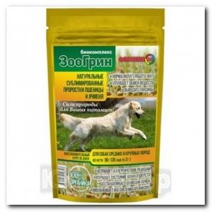 Биокомплекс ЗооГрин для собак средних и крупных пород 30г