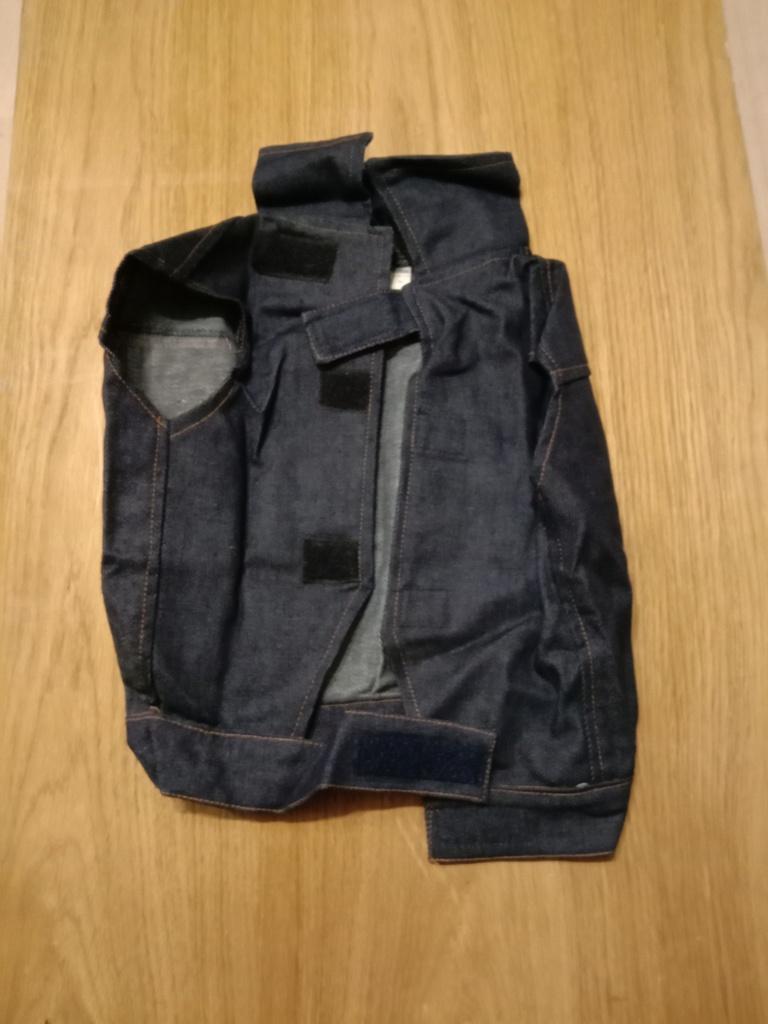 Джинсовая куртка Pooch Plus XL (56см-66см)