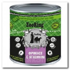 ZooRing для собак Фрикасе с ягненком 850г 1шт
