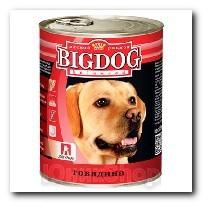 Консервы Big Dog для собак Говядина 850г
