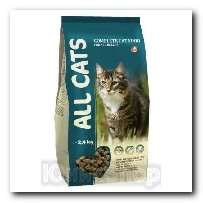 Корм All Cats для кошек сухой 2,4кг