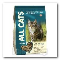 Корм All Cats для кошек сухой 400г