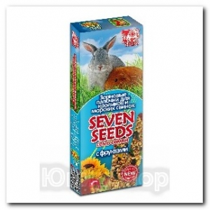 Зерновые палочки Seven Seeds для кроликов и морских свинок с фруктами 2шт