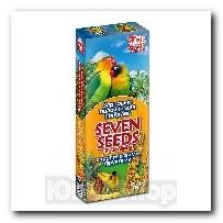 Зерновые палочки Seven Seeds для попугаев с тропическими фруктами 2шт