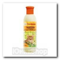 Шампунь Пчелодар с прополисом для короткошерстных кошек 250мл