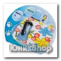 Рулетка для собак OrienPet 3м/10кг ЛЕНТА Цветок пластик RL 11100